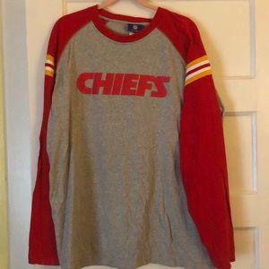 Official Reebok NFL Chiefs Long Sleeved T-Shirt